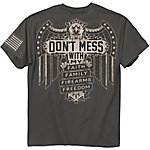 Buck Wear Men's Don't Mess Graphic T-Shirt
