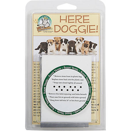 Just Scentsational Here Doggie! Indoor Dog Training Stone by Bare Ground, HD-1