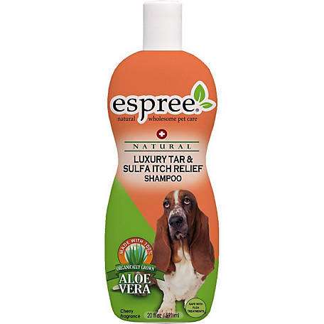 Espree Luxury Tar & Sulfa Itch Relief Shampoo, 20 oz.
