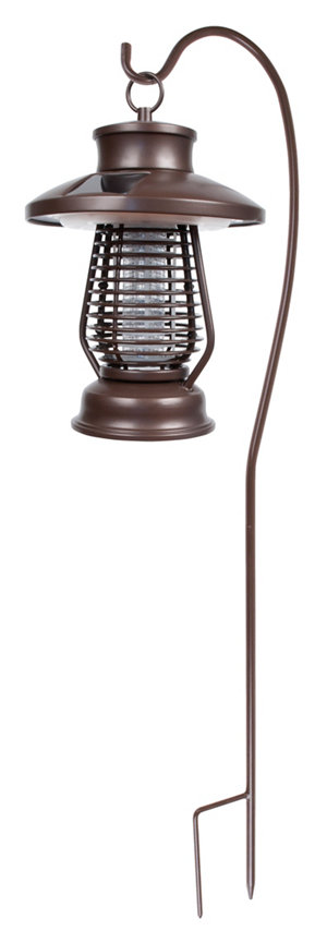 Fusion Solar Bug Zapper With Shepherds Hook