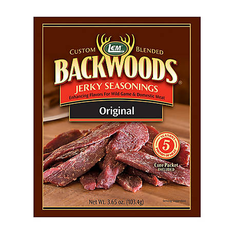 LEM Backwoods Original, Makes 5 lb.