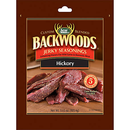 LEM Backwoods Hickory, Makes 5 lb.