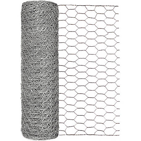 Garden Zone 18 in. x 150 ft. Poultry Netting with 1 in. Mesh, 161815RP