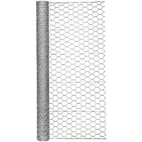 Garden Zone 60 in. x 150 ft. Poultry Netting with 2 in. Mesh, 186015RP