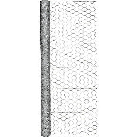 Garden Zone 72 in. x 150 ft. Poultry Netting with 2 in. Mesh, 187215RP