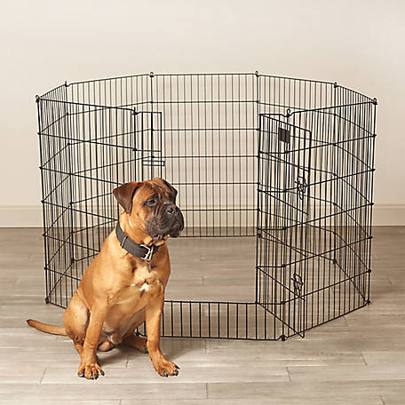 Pet Sentinel 36 in. H x 16 ft. L Pet Pen, 530031
