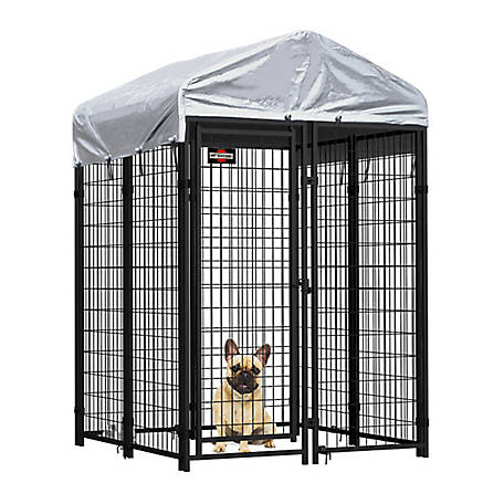 Pet Sentinel 6 x 4 x 4 Welded Mesh Kennel Kit with Anchors, 541969