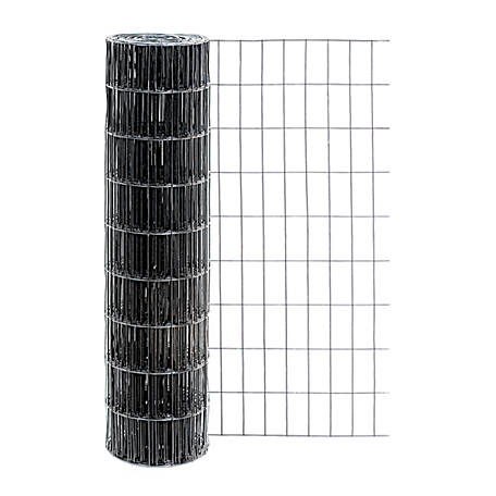 Origin Point 36 in. x 50 ft. 14 ga. Black Vinyl Welded Wire with 2 in. x 4 in Mesh, 703650RP