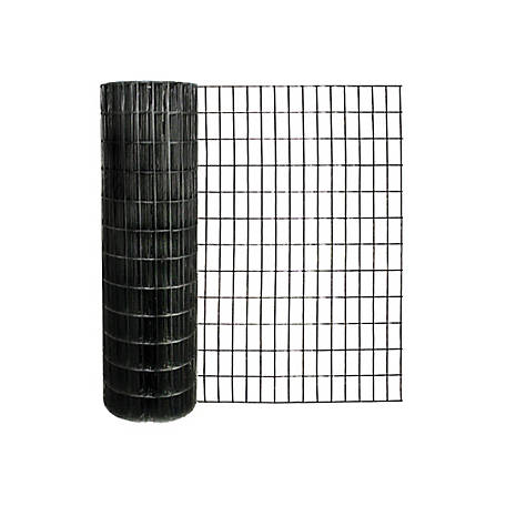 Origin Point 48 in. x 100ft. 14 ga. Black Vinyl Welded Wire with 2 in. x 4 in. Mesh, 704800RP