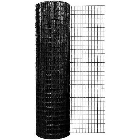 Origin Point 48 in. x 100 ft. 16 ga. Black Vinyl Welded Wire with 1 in. x 2 in. Mesh, 734800RP