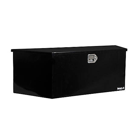 Buyers Products 37 in. Black Steel Trailer Tongue Truck Box