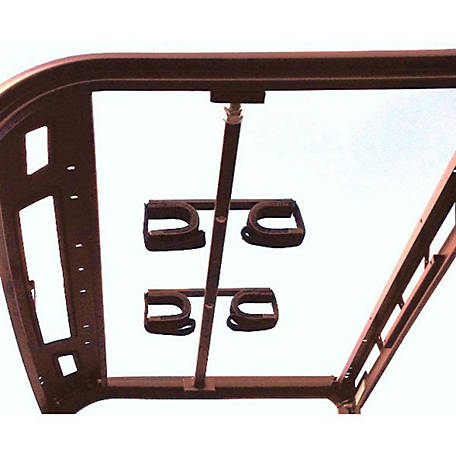 Great Day Quick Draw Overhead Gun Rack For Polaris Ranger 570 Midsize/Polaris General with Pro Fit D-shaped Roll Cage