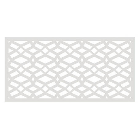 Freedom Decorative Screen Panel, 2 ft. x 4 ft., Celtic White, 73004780