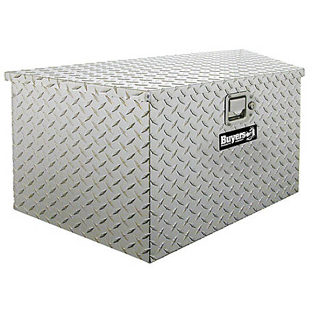 Buyers Products 20.7 in. Diamond Tread Aluminum Trailer Tongue Truck Box