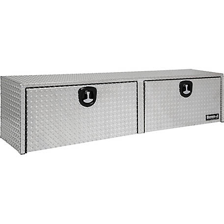 Buyers Products 16 in. x 13 in. x 88 in. Diamond Tread Aluminum Topsider Truck Box