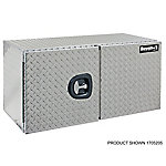 Buyers Products 24 in. x 24 in. x 60 in. Diamond Tread Aluminum Underbody Truck Box with Barn Door