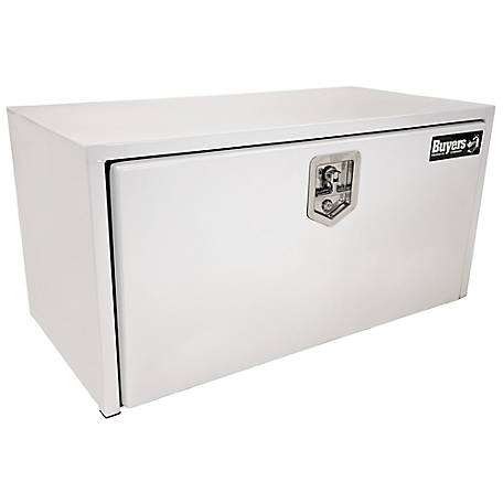 Buyers Products 18 in. x 18 in. x 30 in. White Steel Underbody Truck Box