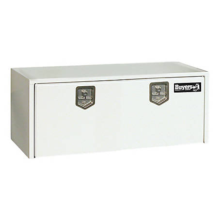 Buyers Products 18 in. x 18 in. x 48 in. White Steel Underbody Truck Box