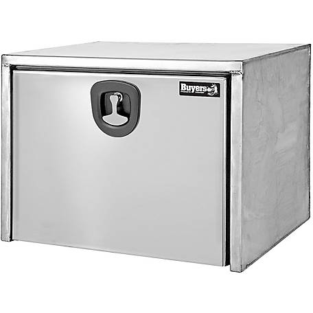 Buyers Products 18 in. x 18 in. x 48 Stainless Steel Truck Box with Polished Stainless Steel Door