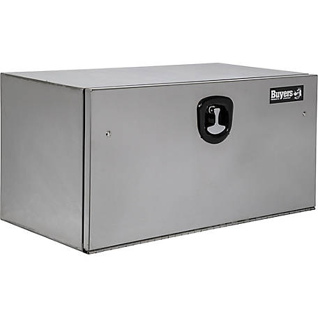 Buyers Products 18 in. x 18 in. x 30 Stainless Steel Truck Box with Stainless Steel Door, Highly Polished