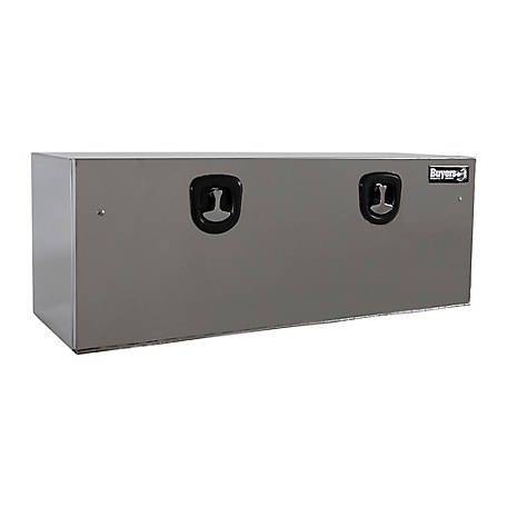 Buyers Products 18 in. x 18 in. x 48 Stainless Steel Truck Box with Stainless Steel Door, Highly Polished