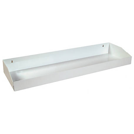 Buyers Products Cabinet Tray for 72 in. White Steel Topsider Truck Box