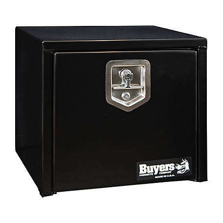 Buyers Products 16 in. x 14 in. x 18 in. Black Steel Underbody Truck Box
