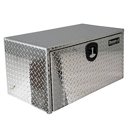 Buyers Products 18 in. x 18 in. x 48 in. Diamond Tread Aluminum Underbody Truck Box
