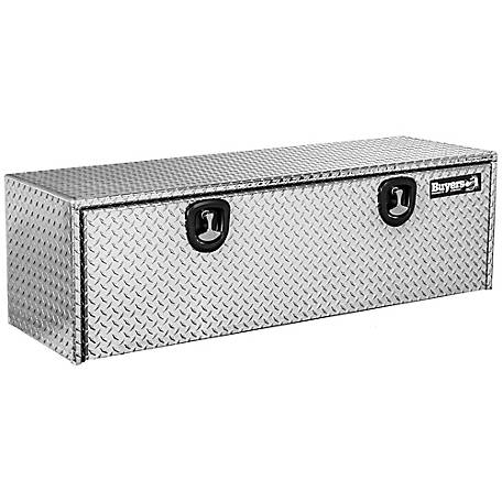 Buyers Products 18 in. x 18 in. x 60 in. Diamond Tread Aluminum Underbody Truck Box