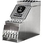 Buyers Products 24 in. x 28 in. x 30 in. Heavy-Duty Diamond Tread Aluminum Step Box