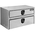 Buyers Products 20 in. x 18 in. x 36 in. Diamond Tread Aluminum Underbody Truck Box with Drawer