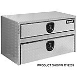 Buyers Products 20 in. x 18 in. x 48 in. Diamond Tread Aluminum Underbody Truck Box with Drawer