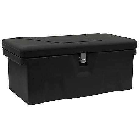 Buyers Products 13.5 in. Black Poly Multipurpose Chest with One Zinc Hasp