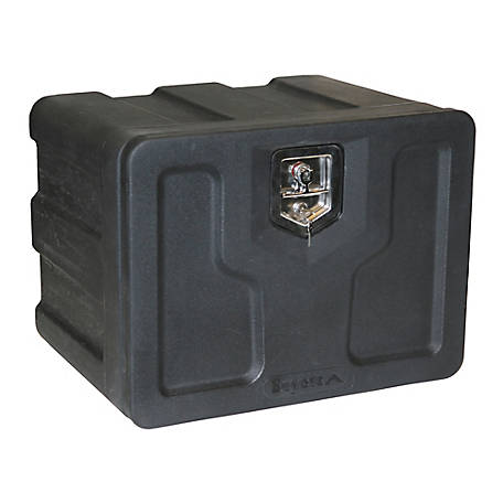 Buyers Products 18 in. x 18 in. x 24 in. Black Poly Underbody Truck Box