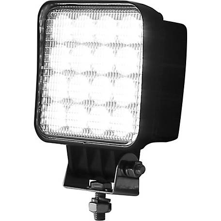Buyers Products 4.625 in. Square Clear Flood Light