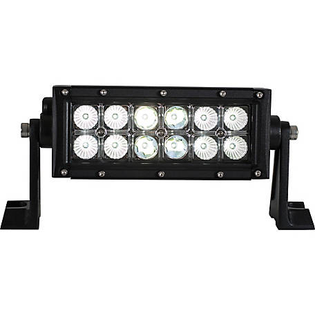 Buyers Products 8.125 in. Clear Combination Spot-Flood Light Bar