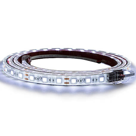 Buyers Products 60 in. 90-LED Strip Light with 3M Adhesive Back, Clear and Cool