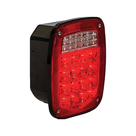 Buyers Products 5.75 in. Red Stop/Turn/Tail Light with 34 LEDs