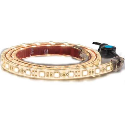 Buy Buyers Products 96 in. 144-LED Strip Light with 3M Adhesive Back; Amber Online