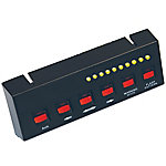 Buyers Products Black Pre-Wired 6-Switch Panel, 4-On/Off 2-Momentary