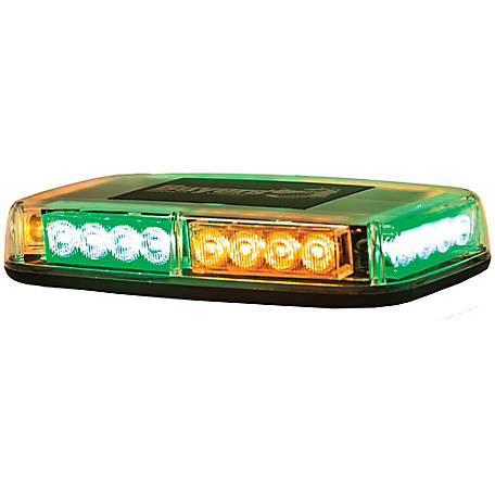 Buyers Products Amber/Green Rectangular Mini Light Bar