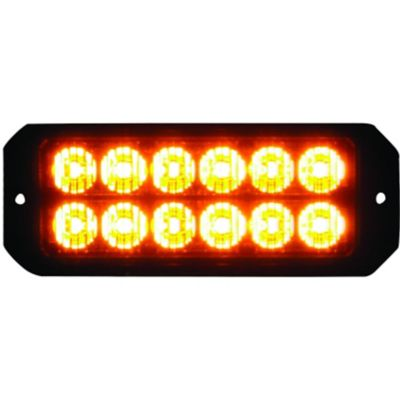 Buy Buyers Products 5.19 in. Amber Rectangular LED Strobe Light Online
