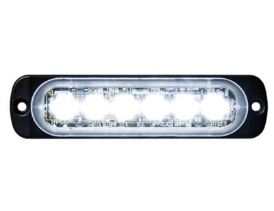 Buy Buyers Products 4.4 in. Clear Thin Mount Horizontal LED Strobe Light Online