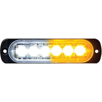 Buy Buyers Products 4.4 in. Amber/Clear Thin Mount Horizontal LED Strobe Light Online