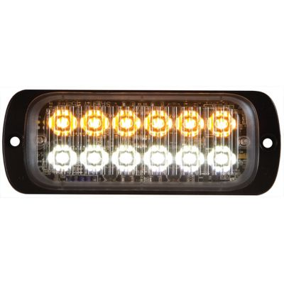 Buy Buyers Products 4.5 in. Amber/Clear Thin Mount Rectangular Strobe Light Online