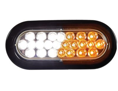 Buy Buyers Products 6 in. Amber/Clear Oval Recessed Strobe Warning Light Online