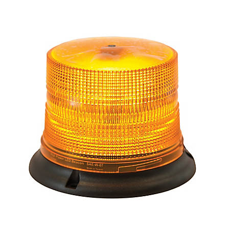 Buyers Products Magnetic Mount Amber 8 LED Beacon with 10 ft. Cord