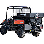 SaltDogg 0.75 cu. yd. Electric Black Poly Hopper Spreader