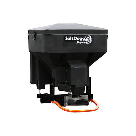 SaltDogg TGS03 8.0 cu. ft. Black Polymer Electric Tailgate Spreader