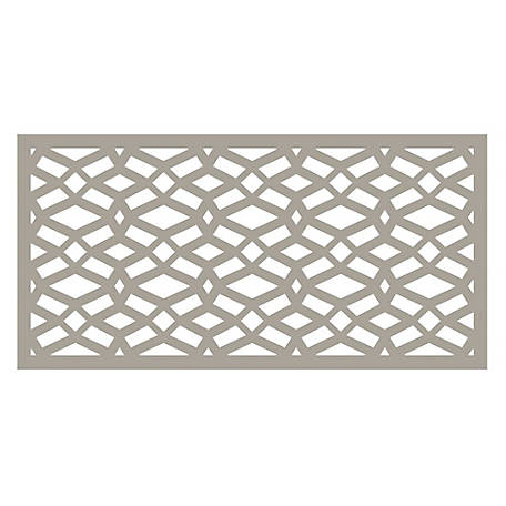 Freedom Decorative Screen Panel, 2 ft. x 4 ft., Celtic Clay, 73004782